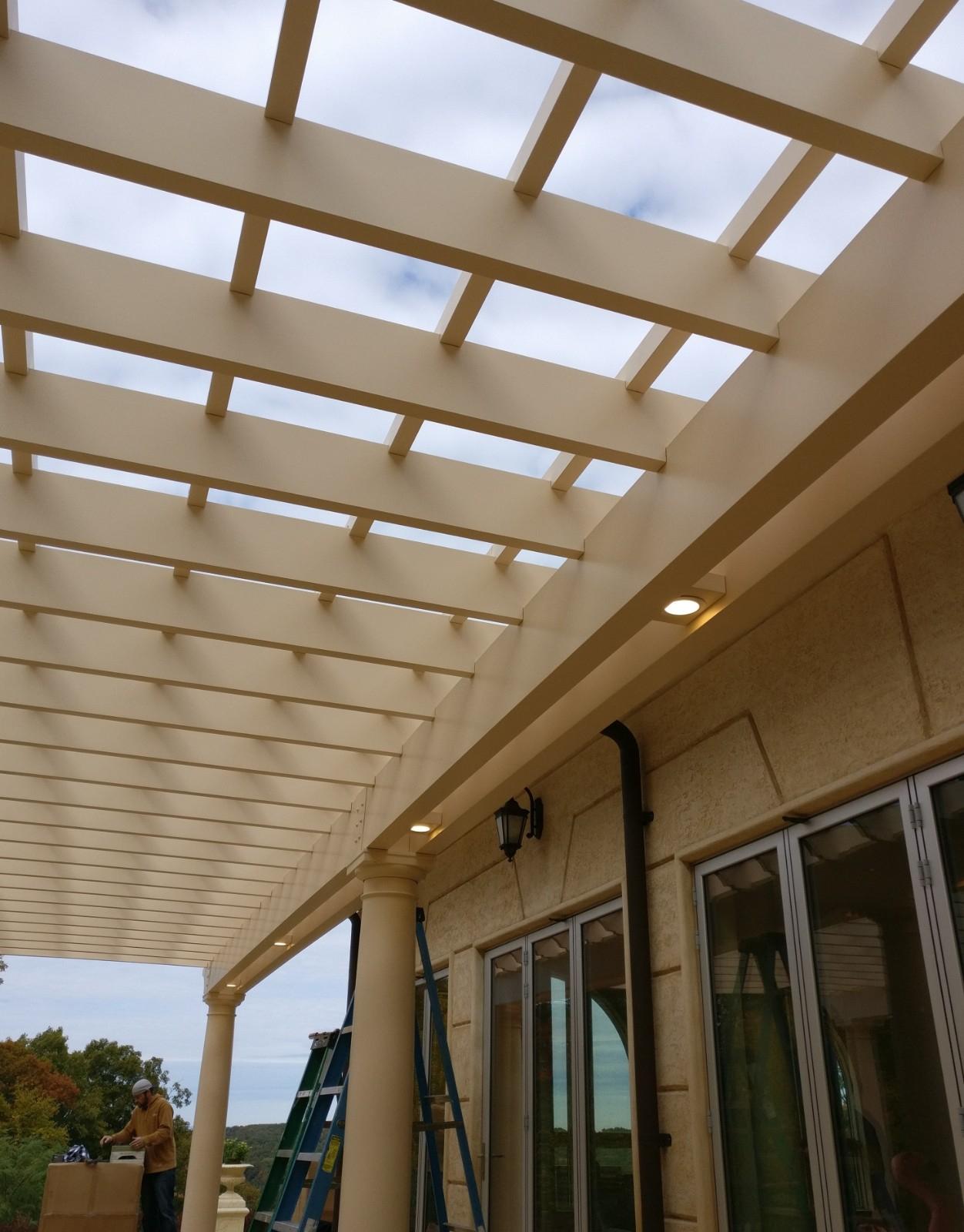 Fiberglass Pergolas   Strong, durable, custom fiberglass