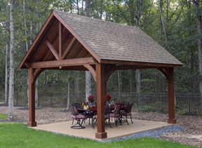 Pergolas Pavilions And Other Outdoor Structures At
