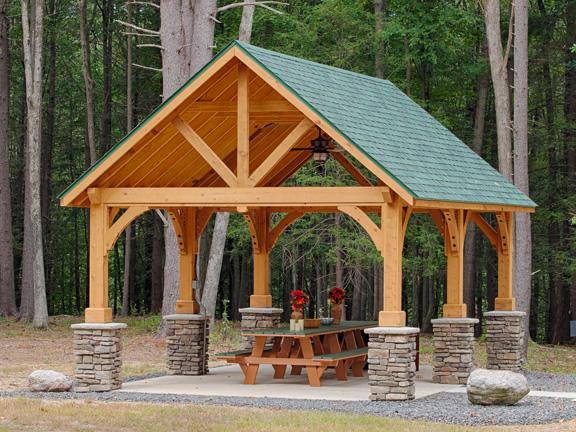 Wooden Pavilions Wooden Gable Pavilions Pavilion Kits