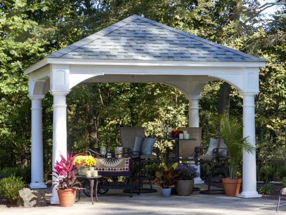 Traditional wooden pavilions wooden pavilions pavilion for Average cost to build a pavilion