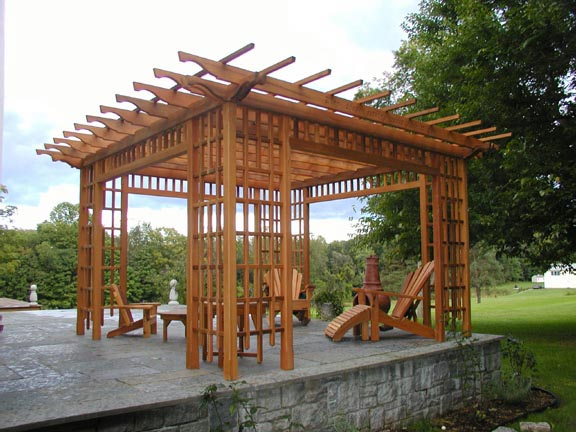Customizing Your Baldwin Pergola Kit