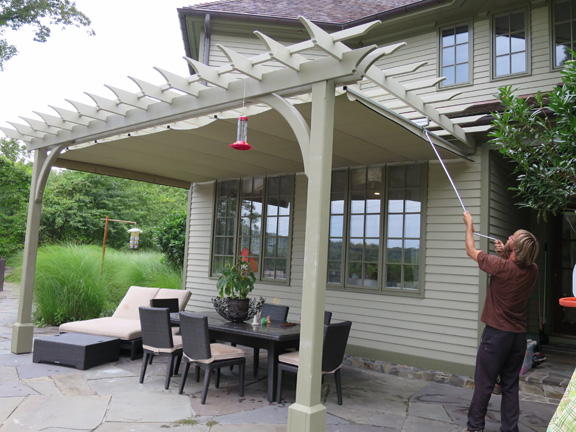 Pergola Rafter Spacing Shade Shapeyourminds Com