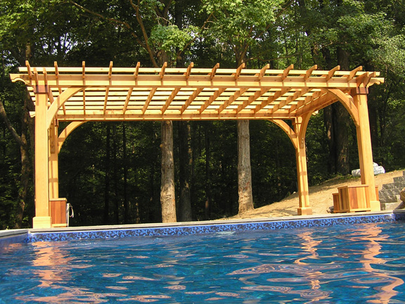 Cedar Pergolas And Custom Cedar Pergola Kits Baldwin