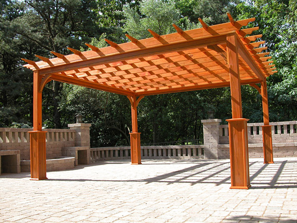 Wooden Pergolas Pressure Treated Pine Pergolas By