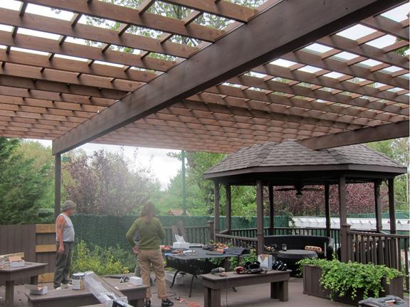 Sukkah and Sukkot at Baldwin Outdoor Comfort - The Sukkah