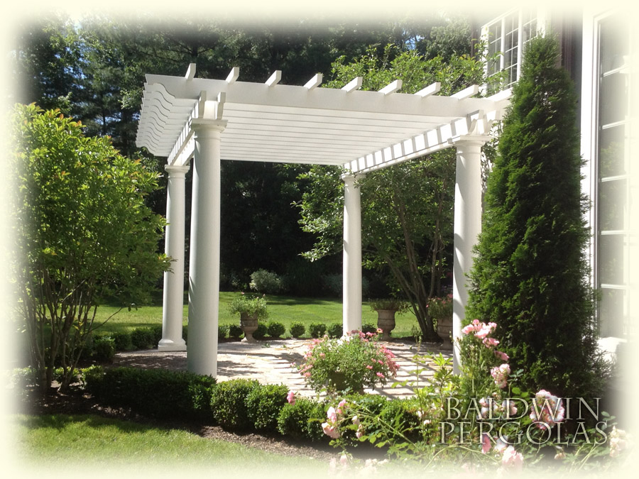 Fiberglass Pergola View Larger Image